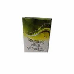 Ketoconazole And Zinc Pyrithione Lotoin