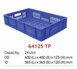 Fruits & Vegetable Display Plastic Crates