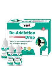 Alcohol De Addiction Treatment Powder With Holy Panch Tulsi Capsules For Body Detox