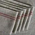 Stripes Linen Cotton Tea Towel, Size: 50 X 70cm