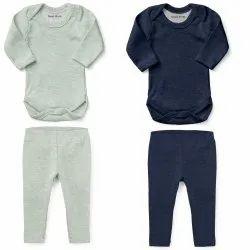 Unisex Baby Onesie Bodysuit Pyjama Set for Boys Girls