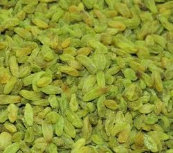 Green Dried Grapes