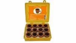 Airance Instant Sambrani Cup - Natural Herbal Premium - Sandalwood