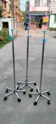 Saline Stand Stainless Steel