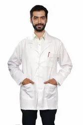 Long Labcoat White Lab Coat, For Hospital