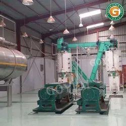 Medium Size Oil Mill Plant