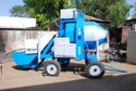 Mobile Batching Plant With Reversible Mixer