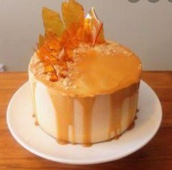Cake Glaze Gel Butter Scotch
