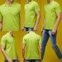 Green Collar T Shirt