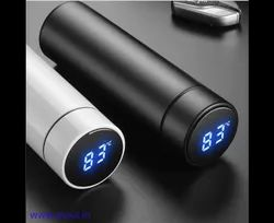 Water Bottle With LED Temperature Display