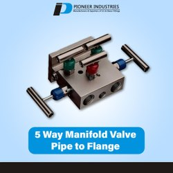 5 Way Manifold Valve Pipe To Flange