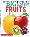 Big Picture Board Book Fruits Can Be Wiped Clean