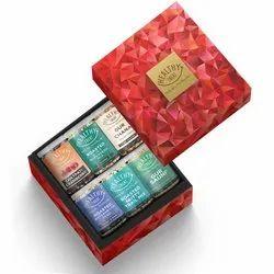 Healthy Treat Assorted Treat Gift Box ,  Pack of 6 Healthy Snacks, Diwali Combo Gift Hamper