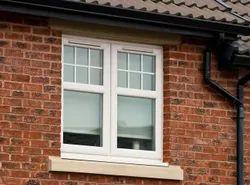 3-8 mm UPVC Sash Window, 3 X 2 Ft