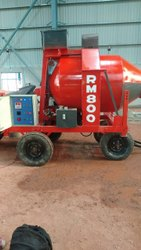 Reversible Drum Concrete Mixer Machine
