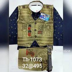 Kids 3 Piece Jacket Suit