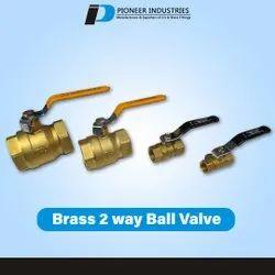 2 Way Brass Ball Valve