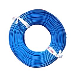 Ind- Star 0.75 mm Blue PVC Electrical Wires, Wire Size: 90 M