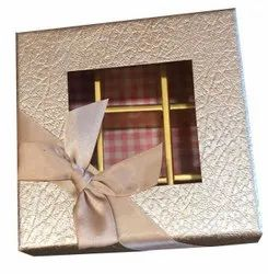 Cardboard Square Chocolate Gift Box, For Gifting, Size: 10 X 10 Inch