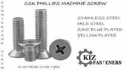 SS Csk Phillips Screw