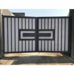 Modern Mild Steel Gate