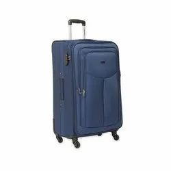 Blue Molded Strolley Suitcase, For Carry Belongings