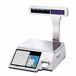 CAS CL3000b Label Printing Weighing Scale