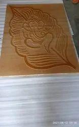 leaf vinayagar stone mural