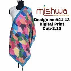 Ladies Digital Print Dupatta