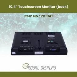 10.4 Touchscreen Monitors (RD104T) back