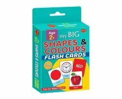 Flash Card My Big Shapes & Colours Flash Card