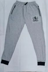 Men''S Loopknit Cup Trackpant Pants, For Sports Wear, Size: Large
