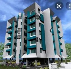 Commercial Projects Concrete Frame Structures Apartment Building Contractors, 1 Year