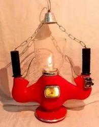 Aluminum Cool White Vespa Handle Lamps, Battery Type: Lead-Acid