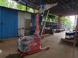 Floor Mounted Crane Battery Fully Automatic Operation Lifting Shifting  And Traction Movement.