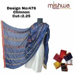 Ladies Designer Chinnon Dupatta