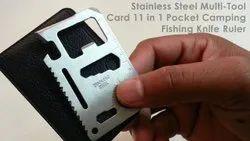 Multifunction 11 In 1 Camping & Hiking Multi Purpose Stainless Steel Pocket Tool 11 Knife