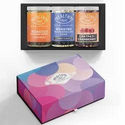 Healthy Treat Compliments Gift Box I Diwali Combo Gift Hamper