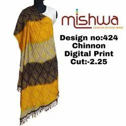 chinnon Ladies Digital Print Dupatta