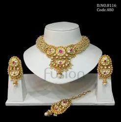 Kundan Adjustable Bracelet