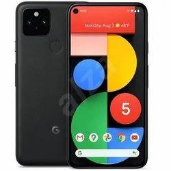 Black Google Pixel 5 5G Smart Phone, Memory Size: 128 GB