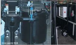 Separator systems for above ground installation
