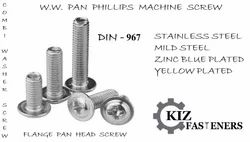 Pan Phillips Screw With Collar