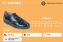 Lace Up Black Men Formal Office Shoes, Size: 5-12