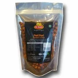 Rk Rosto Foods Standy Pouch PERI PERI ROASTED CHANA, Packaging Size: 200 Grams, Packaging Type: Standy With Zipper