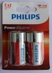 Philips C type Alkaline battery