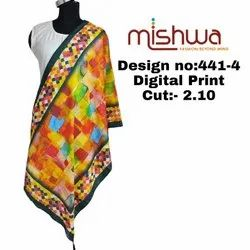 Digital Printed Ladies Dupatta