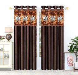 Brown Polyster Horse patch, Size/Dimension: 7x4 Ft