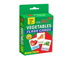 Flash Card My Big Vegetables Flash Card