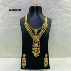 Designer Exclusive Indian Jewelry Artificial Bridal Necklace